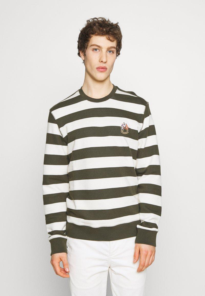 Club Monaco - Sweatshirt - cream/green