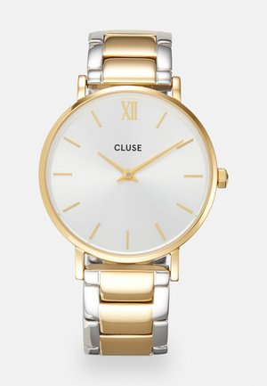 MINUIT - Horloge - gold-coloured/silver-coloured