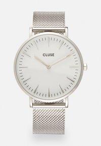 Cluse - BOHO CHIC - Klokke - silver-coloured/white - 0