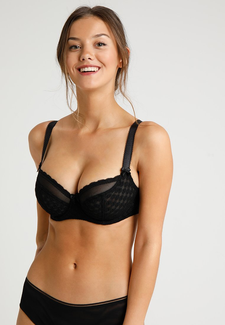 Curvy Kate - DOTTIE BRA - Balconette bra - black