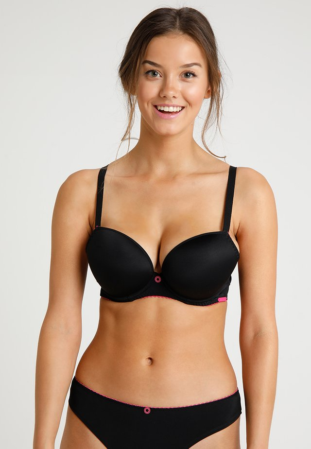 SMOOTHIE SOUL PLUNGE BRA - T-Shirt BH - black