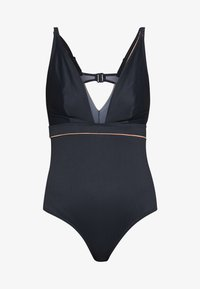 Curvy Kate - POOLSIDE NON WIRED SWIMSUIT - Badedrakt - navy/coral - 5