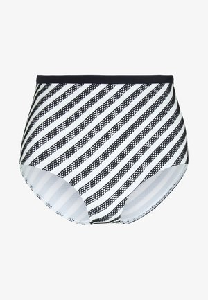 SUNSEEKER HIGH WAIST BRIEF - Bikinibroekje - monochrome