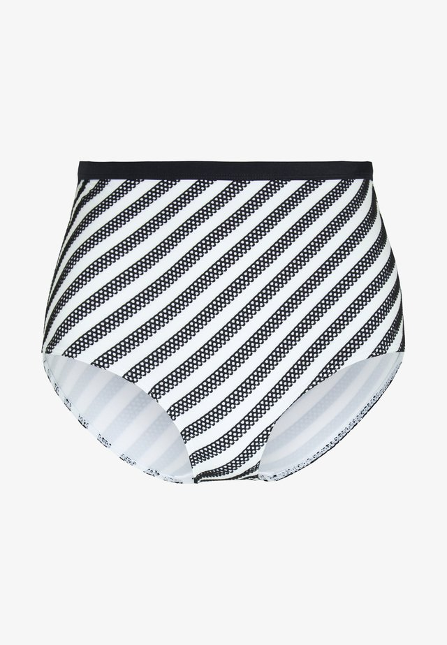 SUNSEEKER HIGH WAIST BRIEF - Bikini bottoms - monochrome