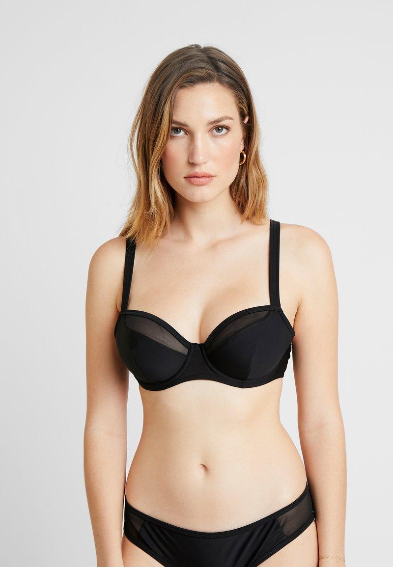 Curvy Kate - SHEER CLASS BALCONY  - Bikinitop - black