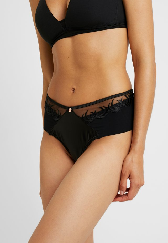 SCANTILLY RAPTURE HIGH WAIST BRIEF - Slip - black