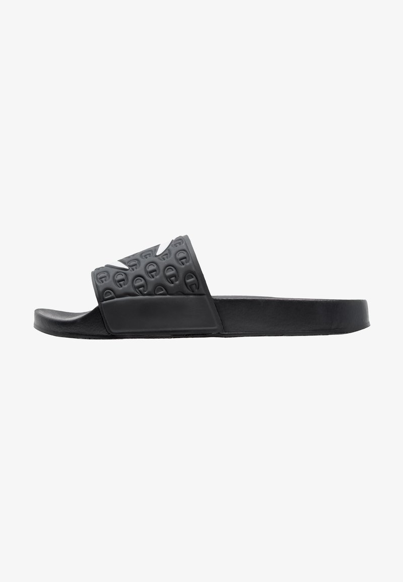 Champion Reverse Weave - POOL SLIDES - Sandales de bain - black