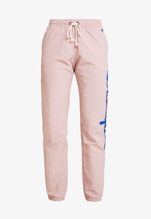 ELASTIC CUFF PANTS - Teplákové kalhoty - lilac