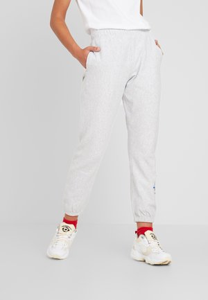 BIG SCRIPT CUFF PANTS - Jogginghose - mottled grey