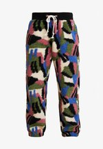 ELASTIC CUFF PANTS - Tracksuit bottoms - cha/allover