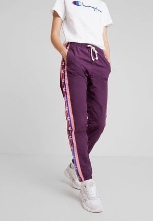 ELASTIC CUFF PANTS - Tracksuit bottoms - lilac