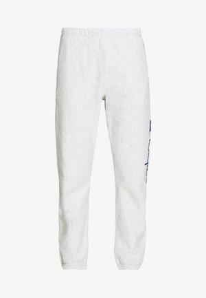 ELASTIC CUFF PANTS - Teplákové kalhoty - grey