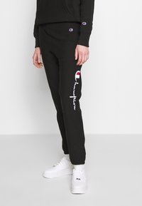 Champion Reverse Weave - ELASTIC CUFF PANTS - Joggebukse - black - 0
