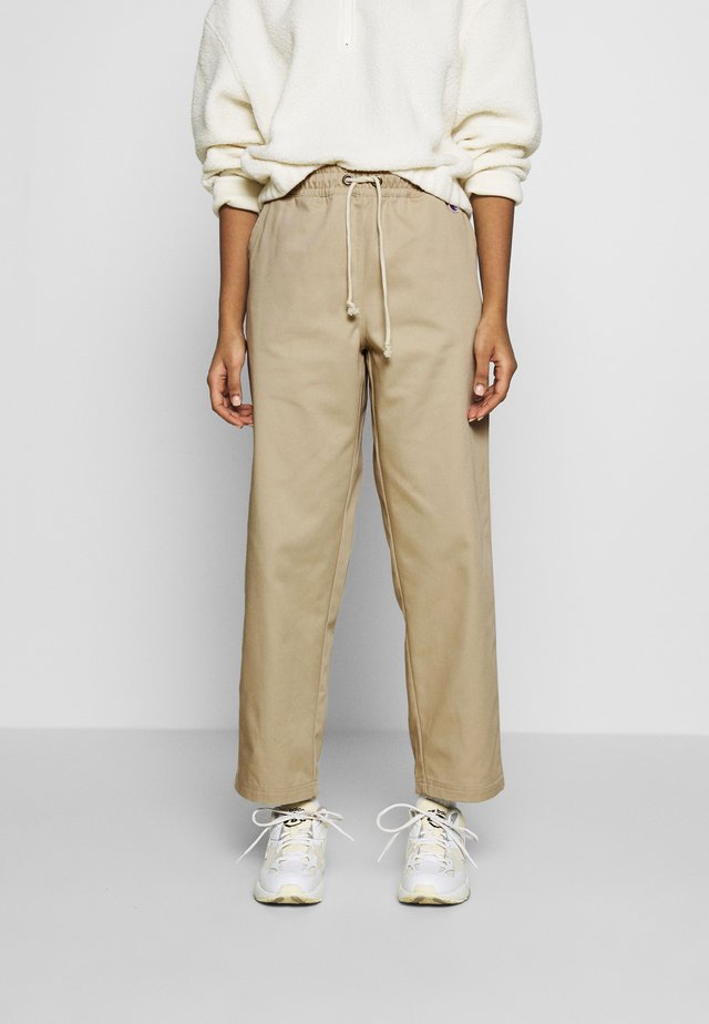 LONG PANTS - Kangashousut - beige