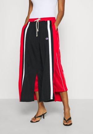 WIDE LEG PANTS - Spodnie treningowe - black