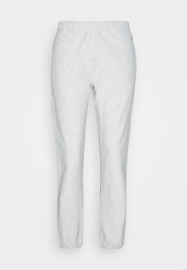 ELASTIC CUFF PANTS - Träningsbyxor - grey