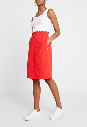 SKIRT - A-lijn rok - red
