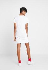 Champion Reverse Weave - DRESS - Jersey dress - white - 3