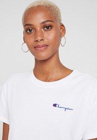 Champion Reverse Weave - DRESS - Jersey dress - white - 4