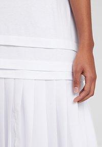 Champion Reverse Weave - DRESS - Jersey dress - white - 5