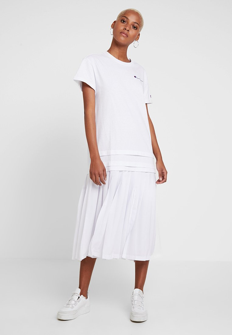 Champion Reverse Weave - DRESS - Jersey dress - white