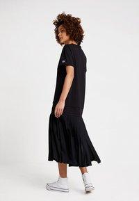 Champion Reverse Weave - DRESS - Jersey dress - black - 2