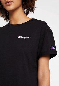 Champion Reverse Weave - DRESS - Jersey dress - black - 4