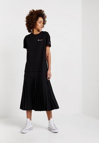 Champion Reverse Weave - DRESS - Jersey dress - black - 0