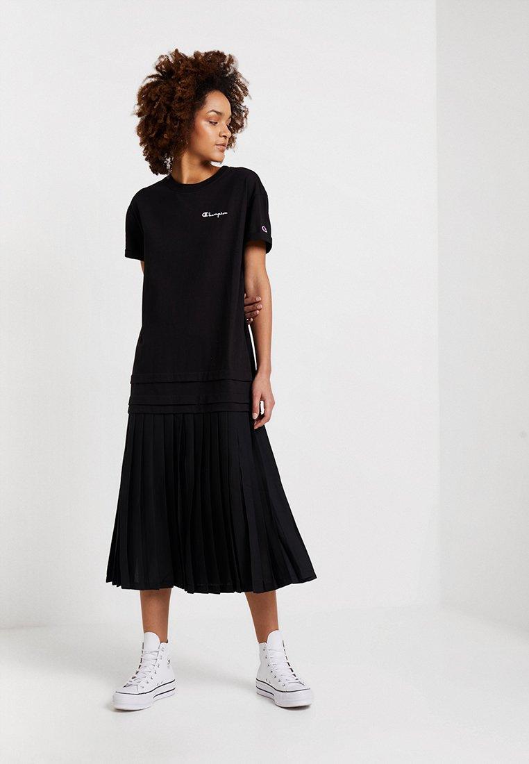 Champion Reverse Weave - DRESS - Jersey dress - black