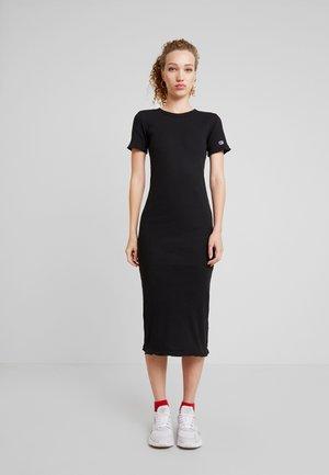 DRESS - Tubino - black