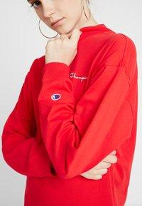 Champion Reverse Weave - SMALL SCRIPT DRESS - Vestito di maglina - byr - 5
