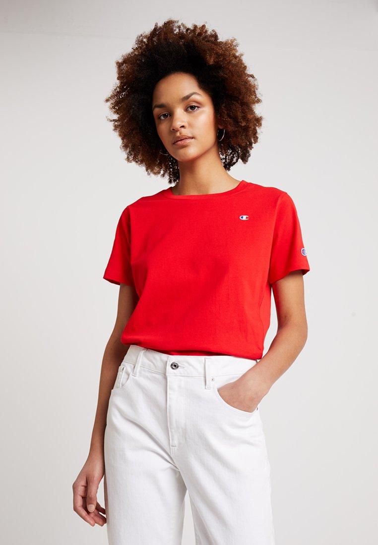 Champion Reverse Weave - CREWNECK  - T-Shirt basic - red