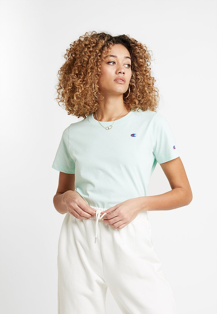 Champion Reverse Weave - CREWNECK  - Jednoduché triko - turquoise