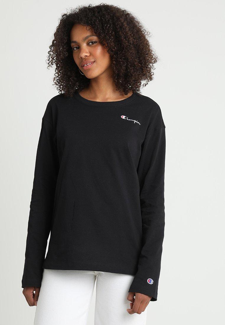 Champion Reverse Weave - Langarmshirt - black