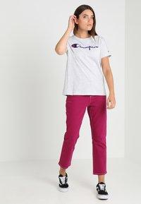 Champion Reverse Weave - CREWNECK - Print T-shirt - grey - 1
