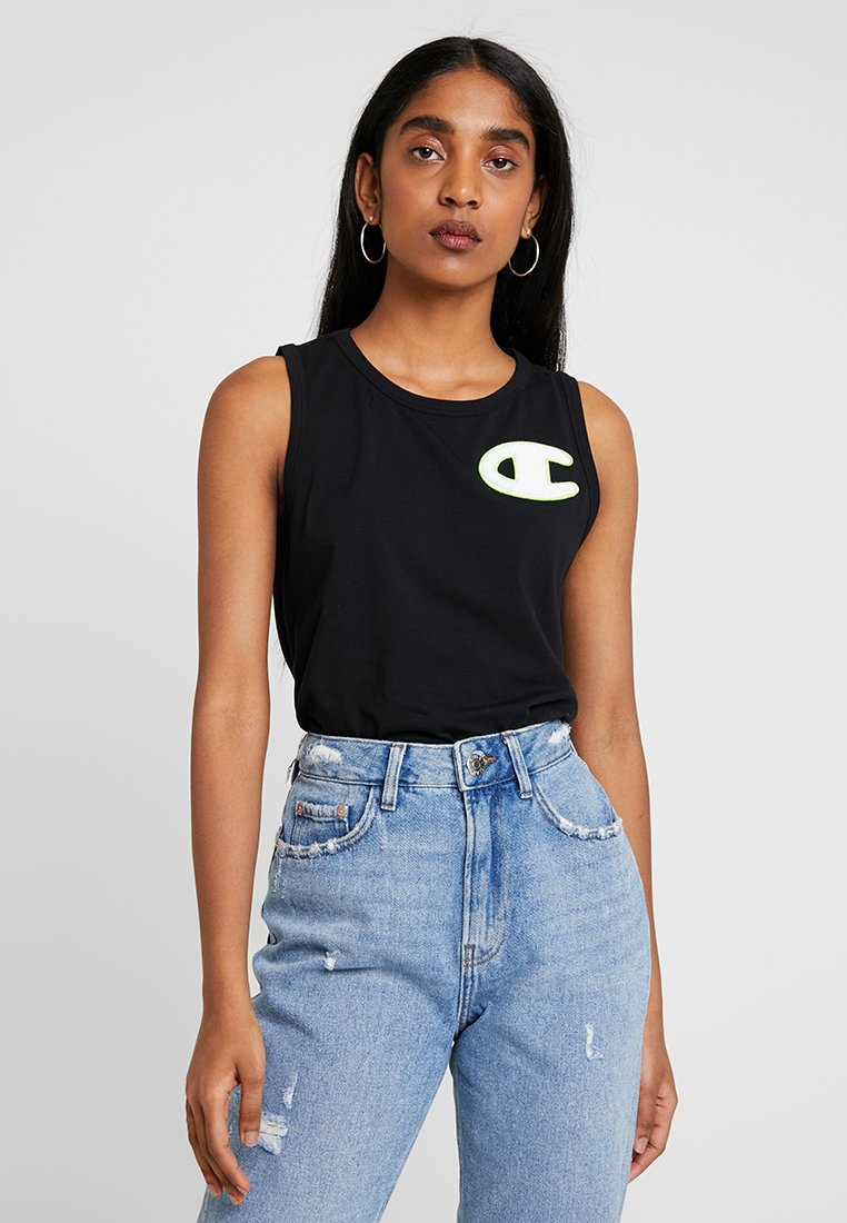 Champion Reverse Weave - CROPPED TANK - Top - black
