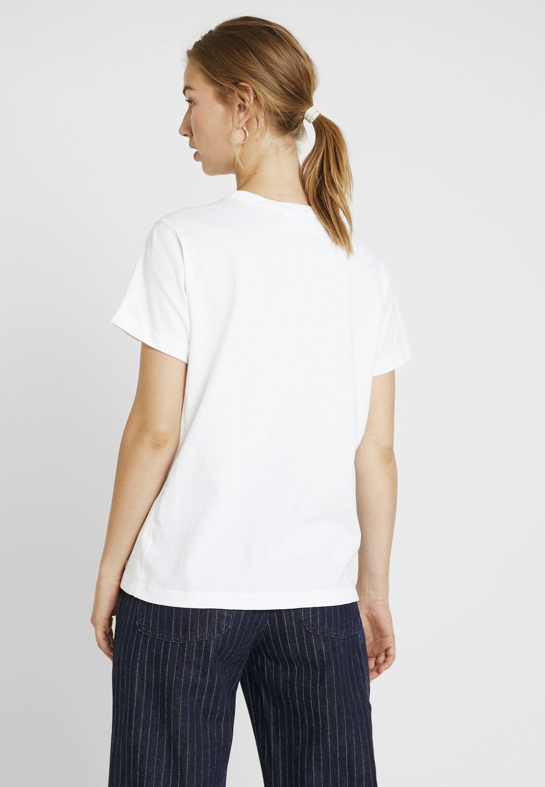 Smal Champion CrewneckT Weave shirt White Reverse Script Imprimé TJclKF31