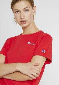 Champion Reverse Weave - SMAL SCRIPT CREWNECK  - T-shirt con stampa - byr - 4