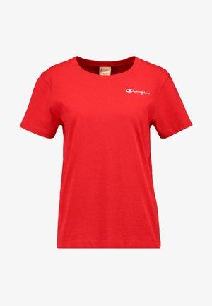SMAL SCRIPT CREWNECK  - T-Shirt print - byr