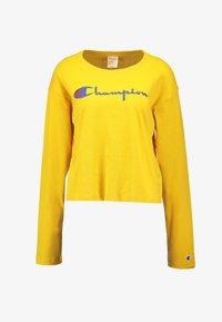 Champion Reverse Weave - BIG SCRIPT CROPPED - Topper langermet - old - 3