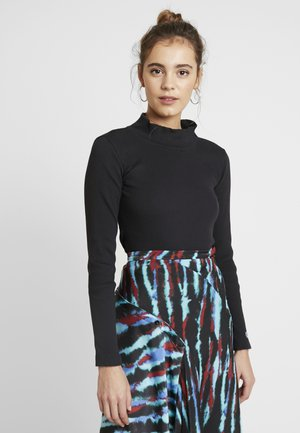TURTLE NECK - Topper langermet - black