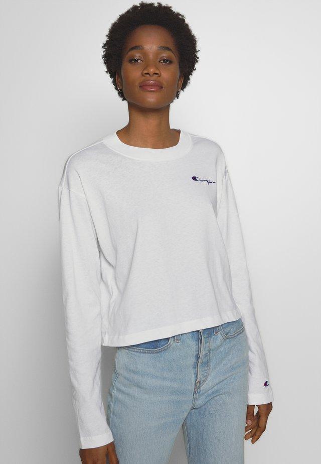 CREWNECK LONG SLEEVE  - Long sleeved top - white