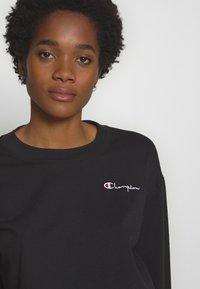 Champion Reverse Weave - CREWNECK LONG SLEEVE  - Sweatshirt - black - 3