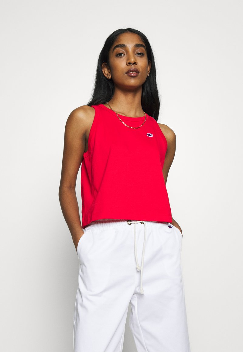 Champion Reverse Weave - TANK - Top - red