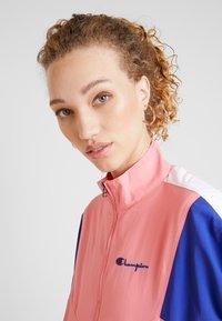 Champion Reverse Weave - HALF ZIP - Trainingsvest - light pink - 3
