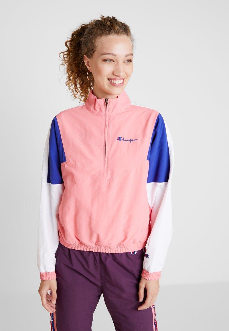 Champion Reverse Weave - HALF ZIP - Trainingsvest - light pink