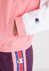 Champion Reverse Weave - HALF ZIP - Trainingsvest - light pink - 5