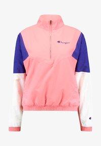Champion Reverse Weave - HALF ZIP - Trainingsvest - light pink - 4
