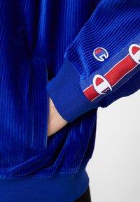 Champion Reverse Weave - HOODED FULL ZIP - Mikina na zip - blue - 5