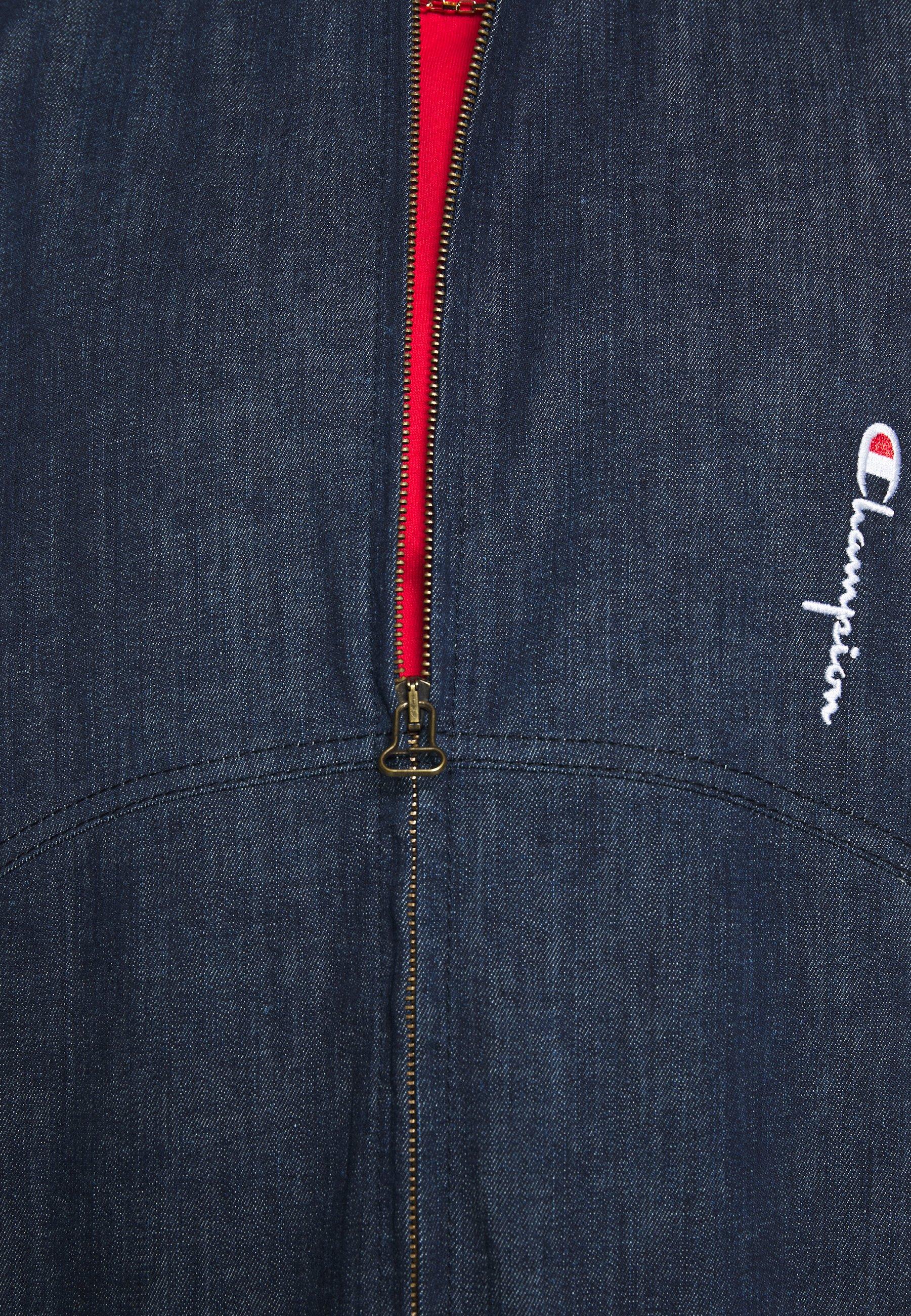 Champion Reverse Weave Full Zip - Jeansjacke Denim